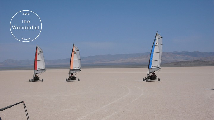 Go Land-Sailing on Nevada's Dry Lakes | The Wanderlist 2019