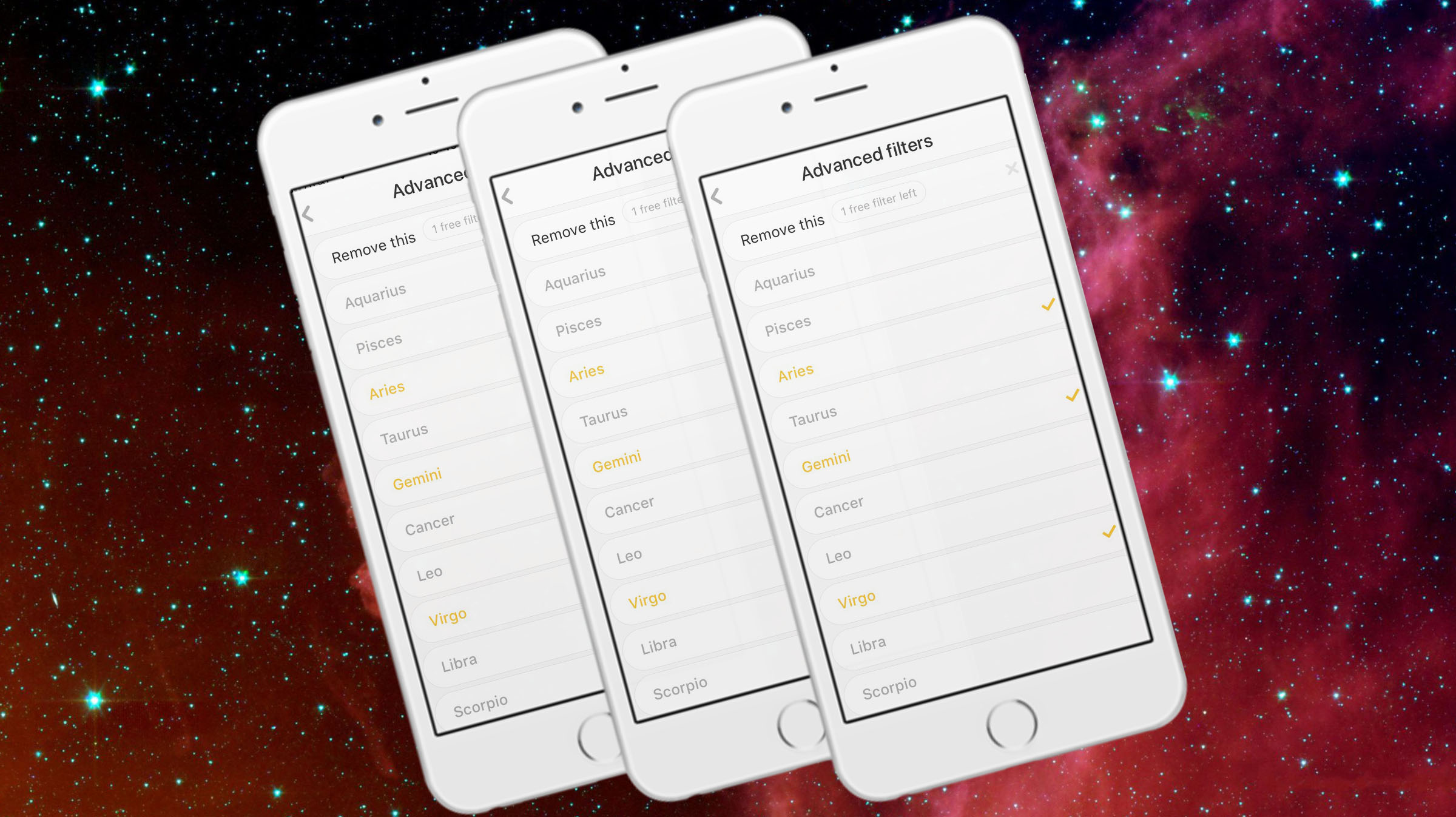 dating app based on astrological signs