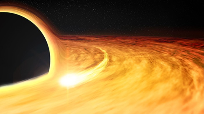 Astronomers Discover a Supermassive Black Hole Rotating At Half the Speed of Light