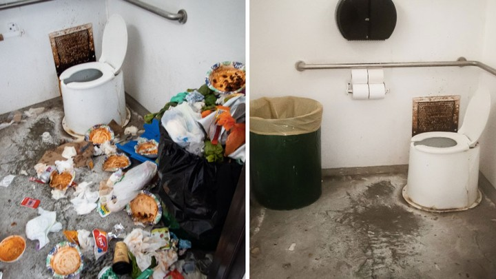 This Guy Cleaned Up a Trashed National Park Bathroom and Sent Trump a Bill