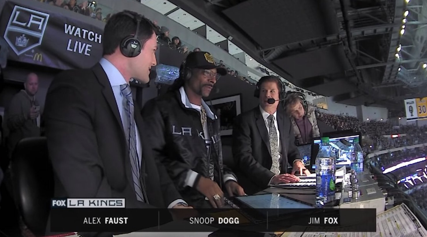 Snoop Dogg's Hockey Play-by-Play During Los Angeles Kings Game Was Hilarious