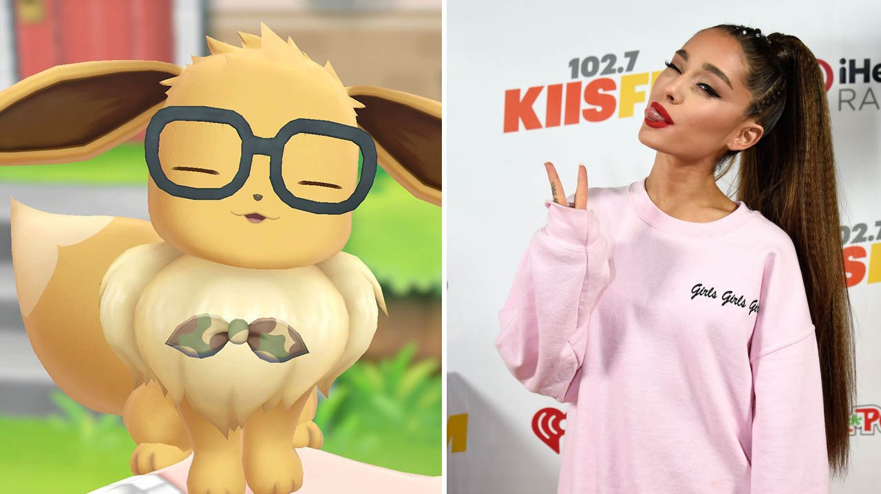 Ariana Grande Is Literally the Pokémon Eevee, so Her Tattoo Is Perfect