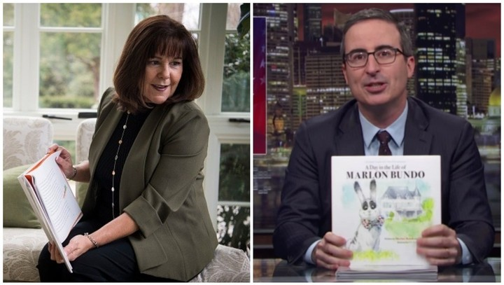 100 Copies of John Oliver's Gay Kids' Book Got Sent to Karen Pence's School
