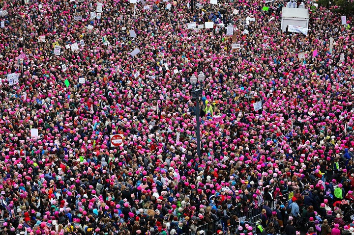 Why Some Women Are Staying Home for the Women's March This Year