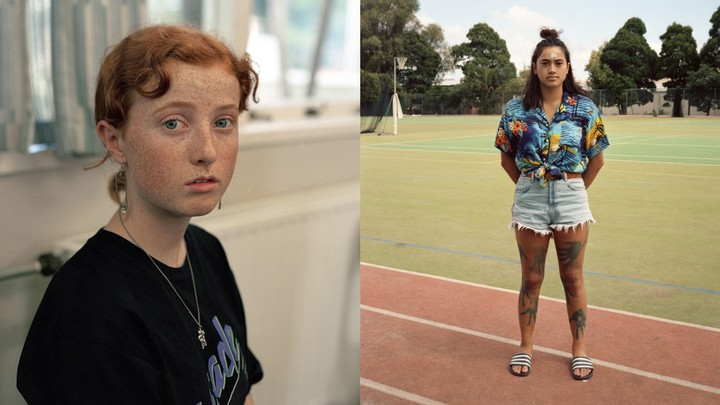 these portraits explore what it means to be a teen in new zealand