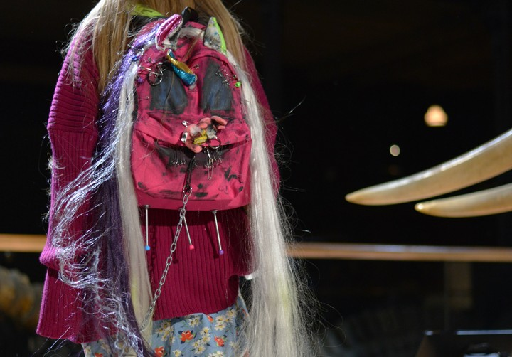 We Need to Talk About the Backpacks Wearing Wigs at Vetements