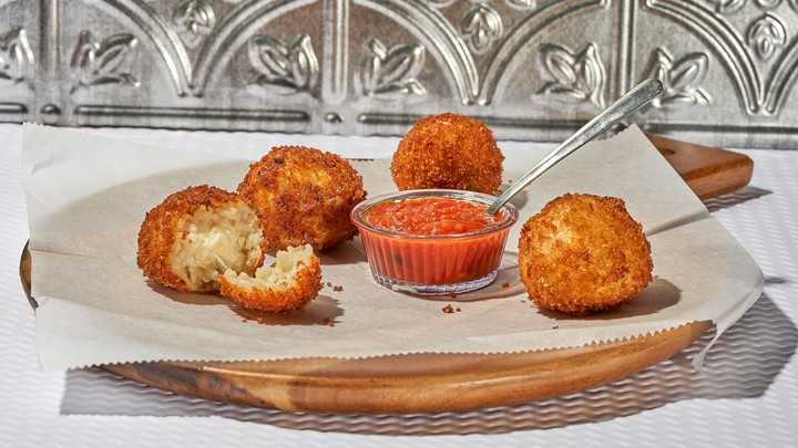 Cheesy Arancini Recipe