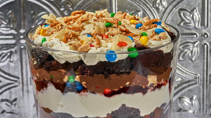 Trail Mix Trifle Recipe Munchies