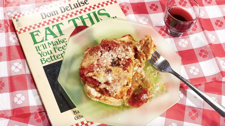 I Made Stuffed Eggplant Rollups From Dom Deluise's Cookbook—Just Like My Mom Used To