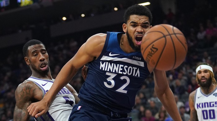 Karl-Anthony Towns is Not Hopeless on Defense