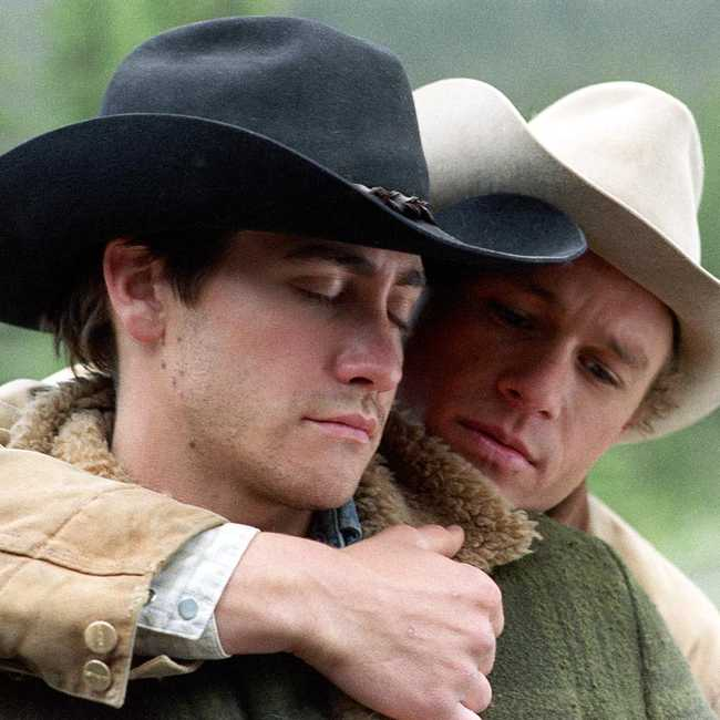 heath ledger brokeback mountain nackt