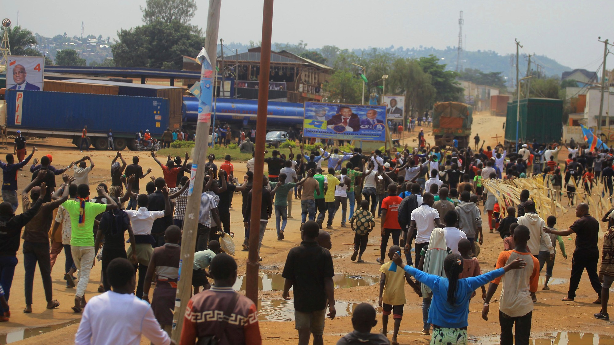 DRC's first peaceful transfer of power was marred by