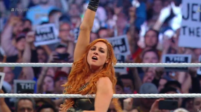 Becky Lynch's Royal Rumble Win Was as Exciting as Seth Rollins's Was Boring