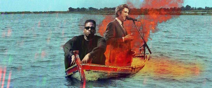 Prince Waly et Feu! Chatterton sont sur un bateau, qui fait couler le bateau ?