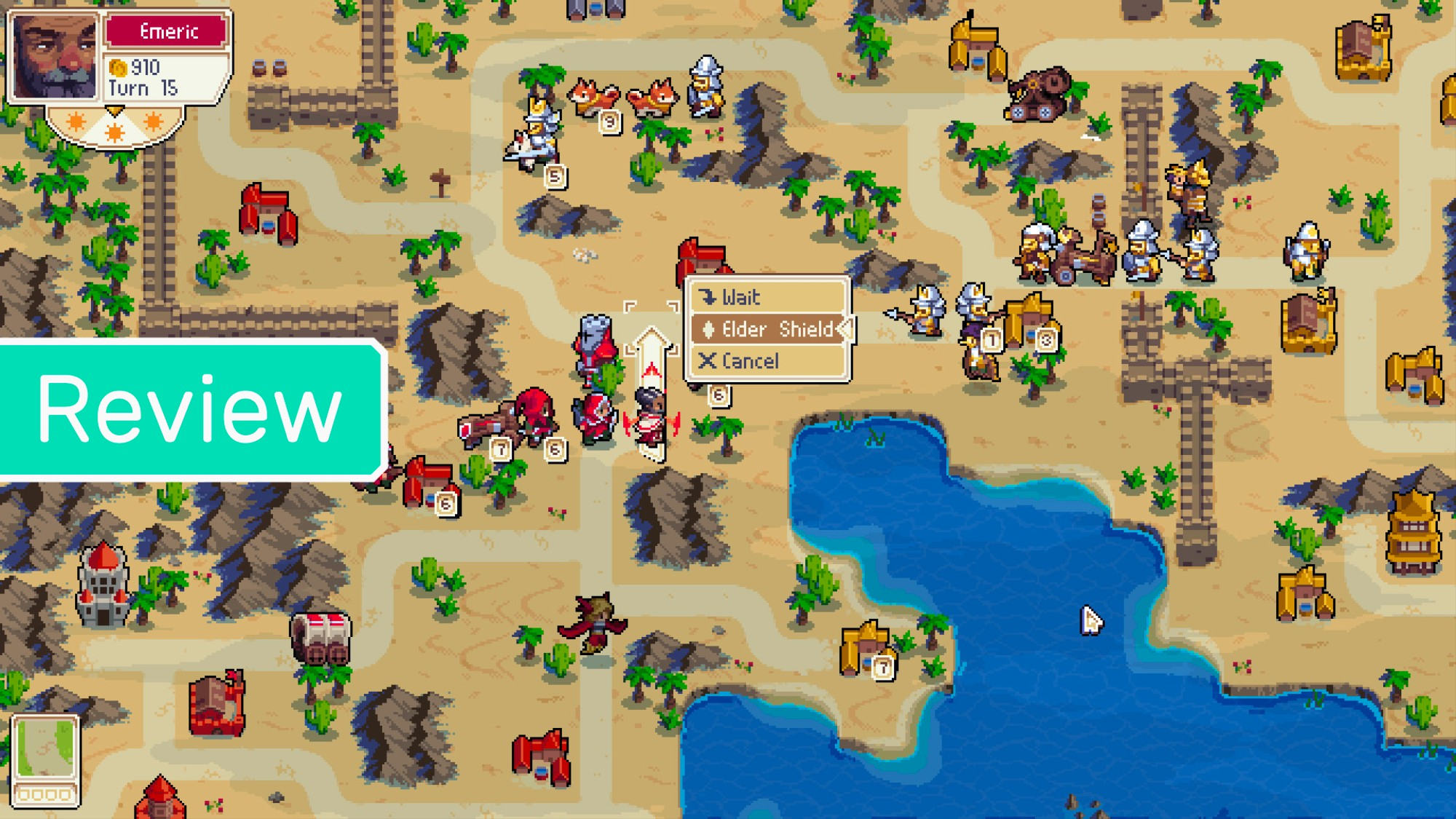 For Desperate Advance Wars Fans, 'Wargroove' Proves a