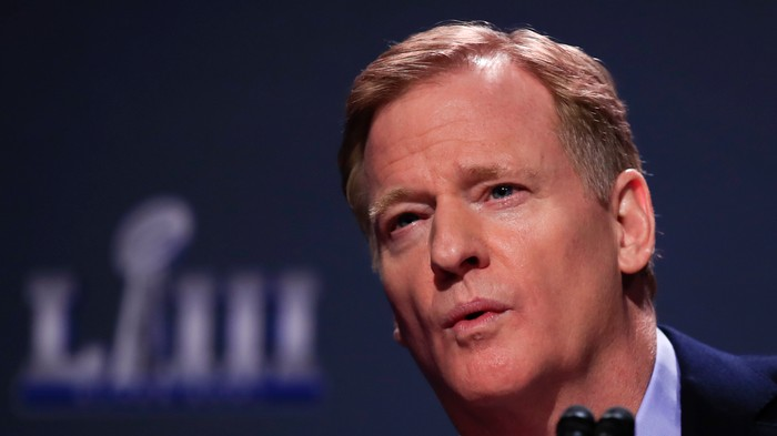 Roger Goodell is Once Again Full of Shit