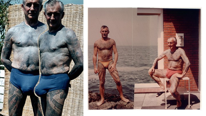 The Wild Life of the Photographer Who Survived WWII and Tattooed His Whole Body - VICE