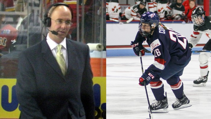 Pierre McGuire Mansplained Hockey Announcing to Kendall Coyne Schofield
