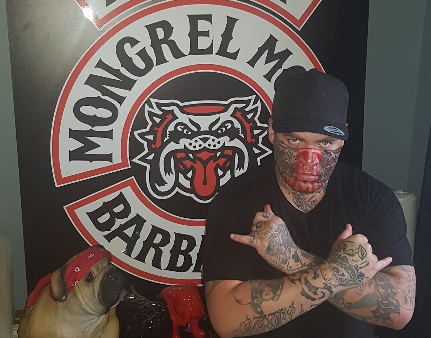 """75b45e5e5 A Guy From the Mongrel Mob Explains Why the Predominantly Māori Gang Uses  Swastikas. """""""