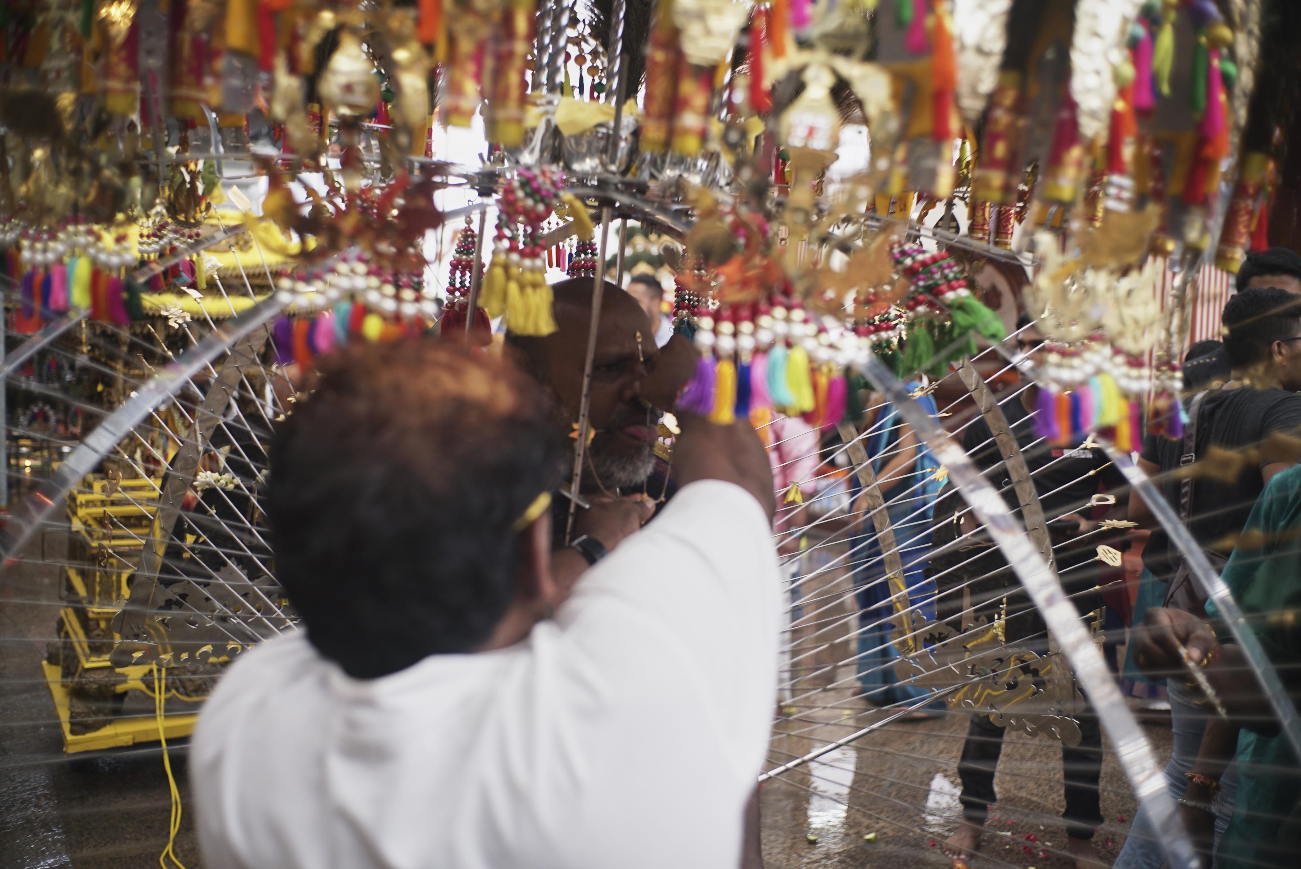 A Hindu Tamil Practice Where Believers Prove Their Faith Through
