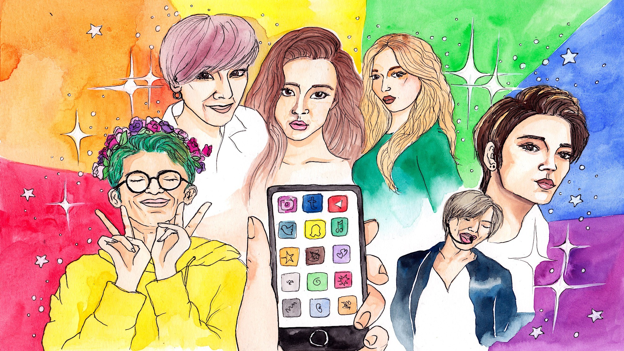 The Complexity and Fun of Being a Queer, Femme K-Pop Fan - VICE