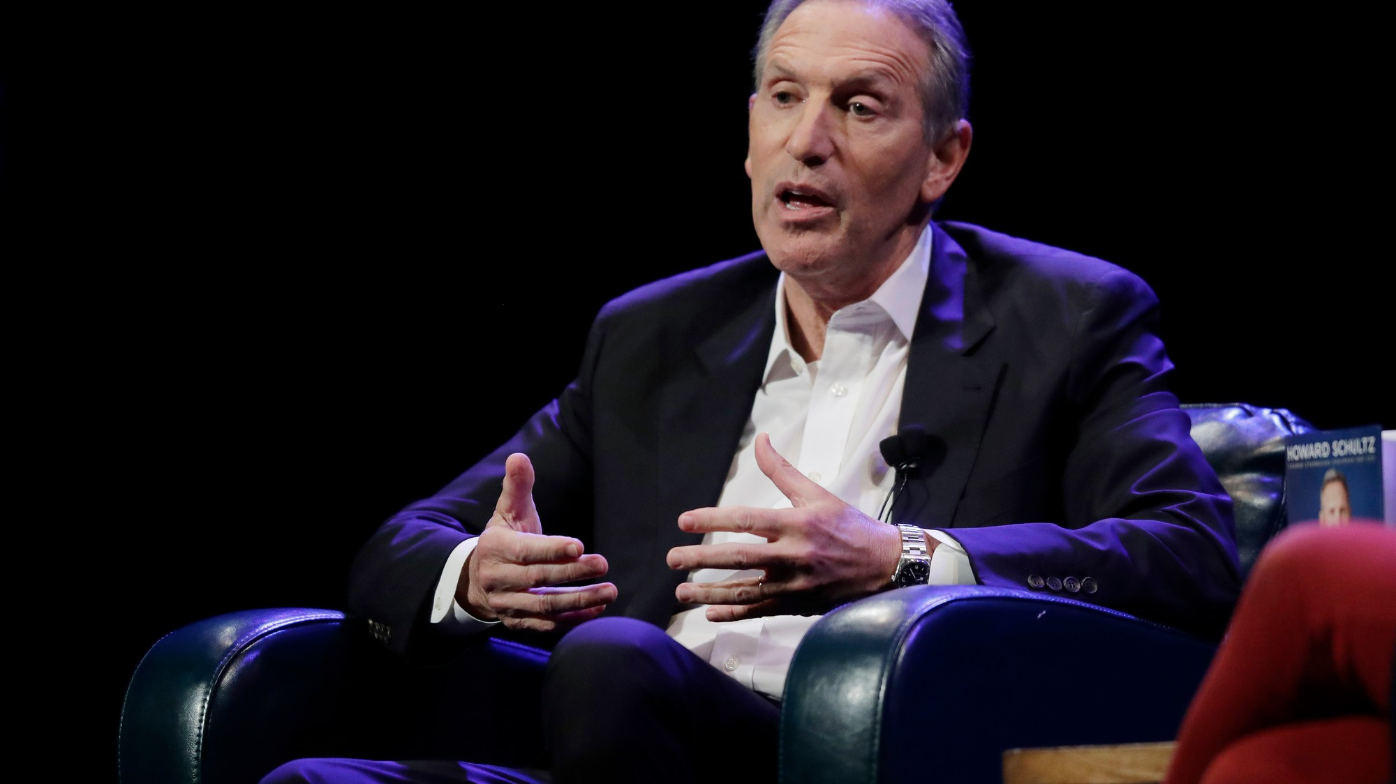 Billionaire Howard Schultz is very upset you're calling him