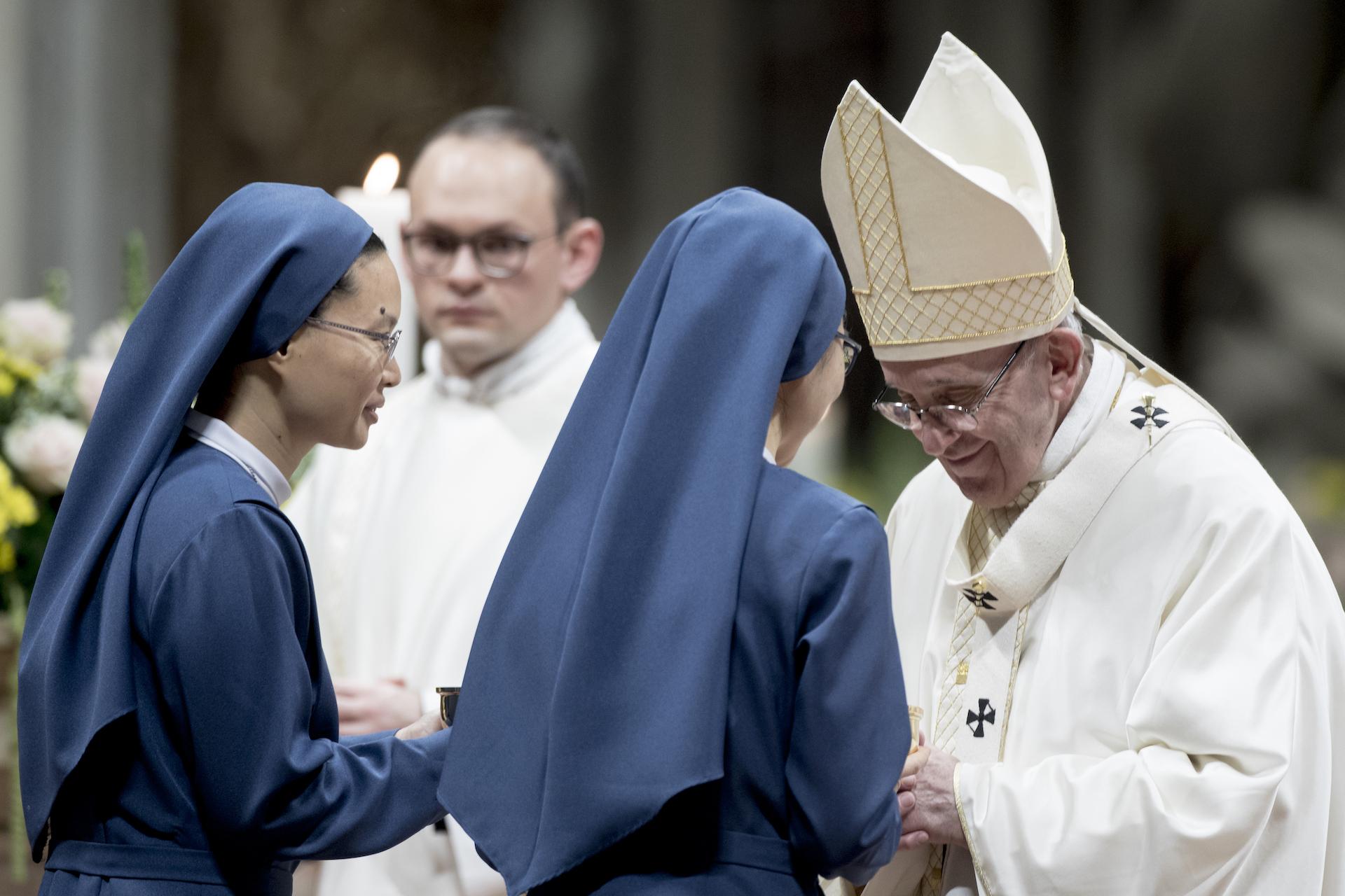 Priests coerce nuns into sex