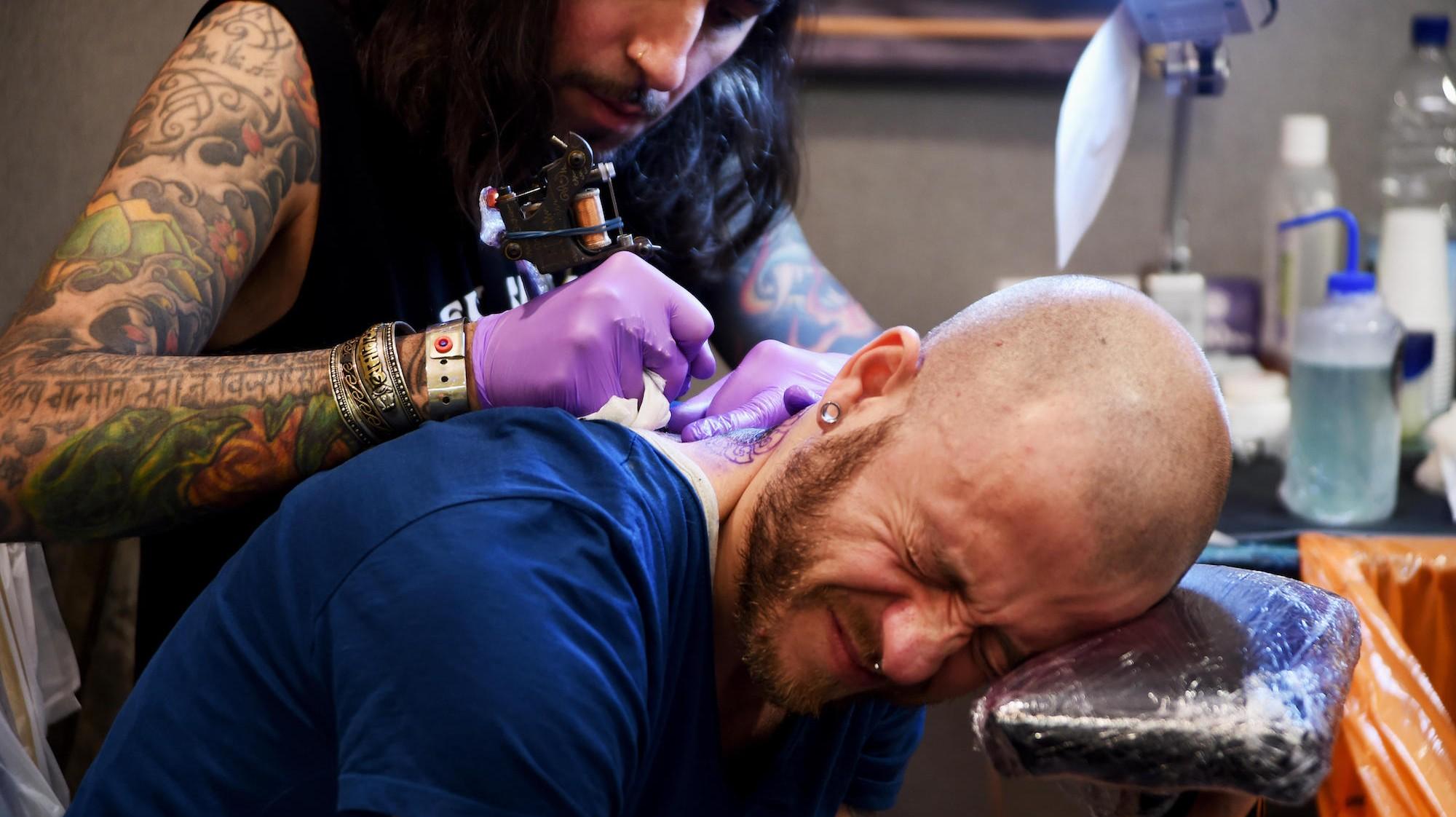 Najbardziej Bolesne Miejsca Na Tatuaż Vice