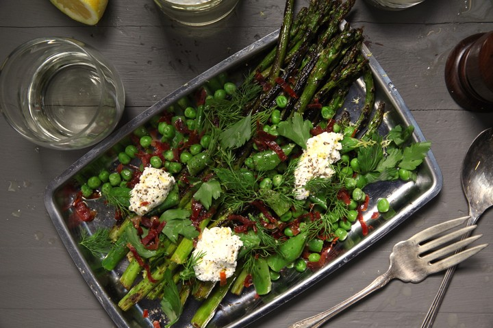 Asparagus and Pea Spring Salad Recipe