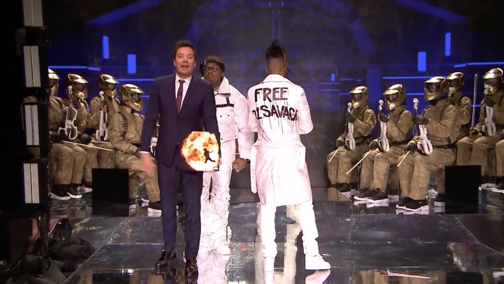 """Metro Boomin Wore a """"Free 21 Savage"""" Jacket During His 'Fallon' Performance"""