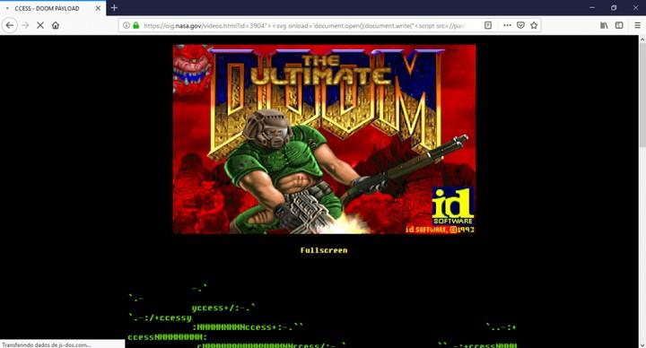 """Hackers brasileiros rodaram """"Doom"""" em site da NASA porque não tinham nada melhor pra fazer - VICE"""