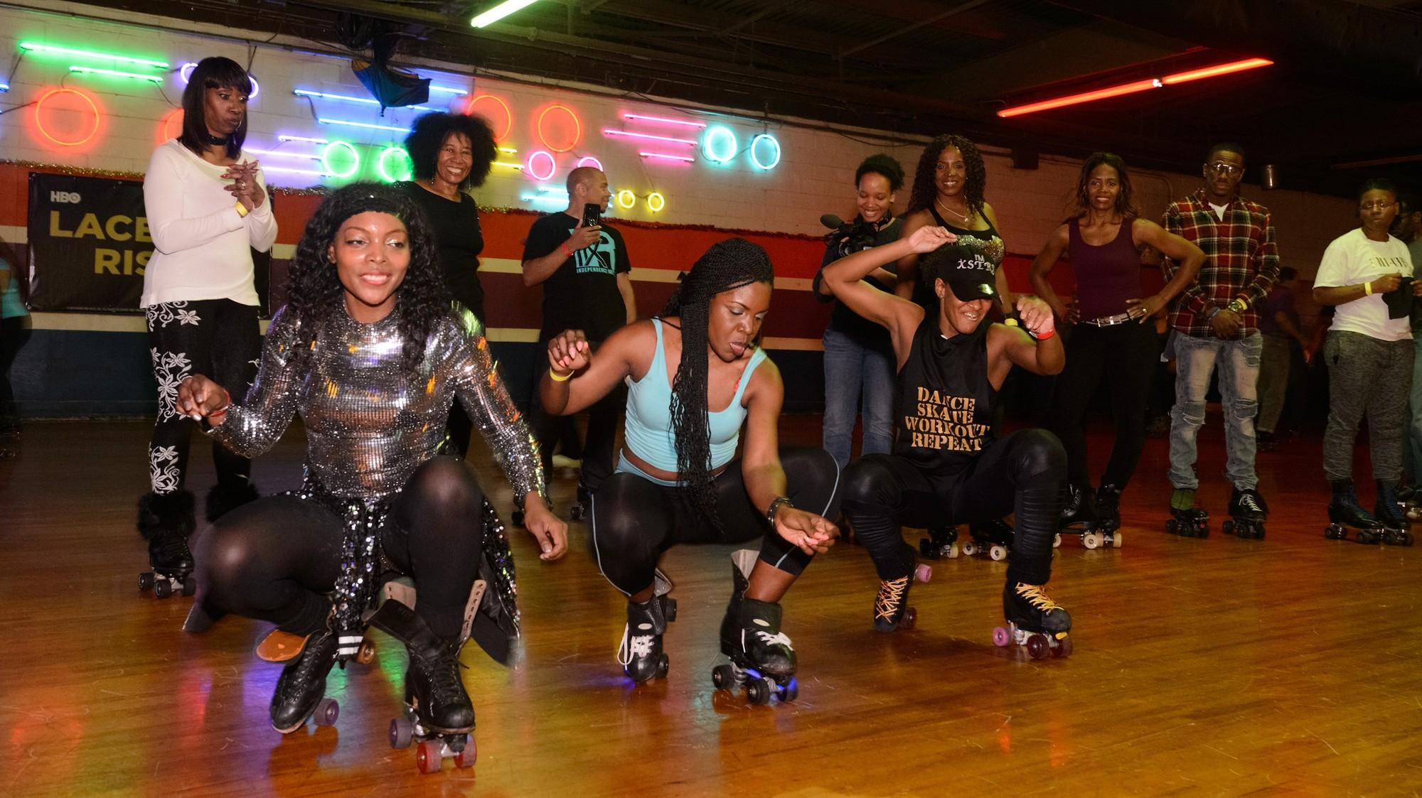 Image result for black roller skating culture