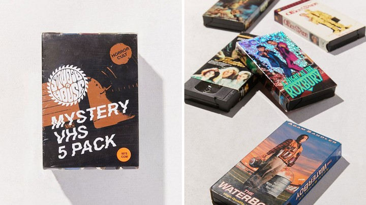 Urban Outfitters Will Sell You Five Random VHS Tapes for $40 if You Want That