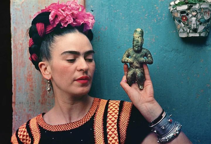 The Art of Crafting Frida Kahlo's Image