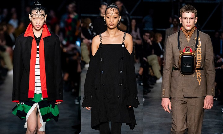 riccardo tisci dedicated his second burberry collection to london youth