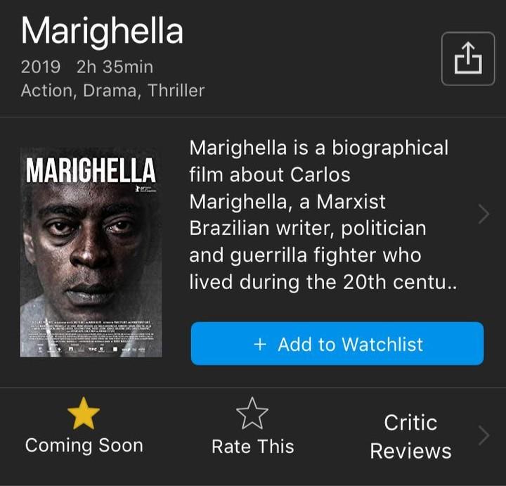 Bots tentaram derrubar nota de 'Marighella' no IMDb, mas não deu muito certo - VICE