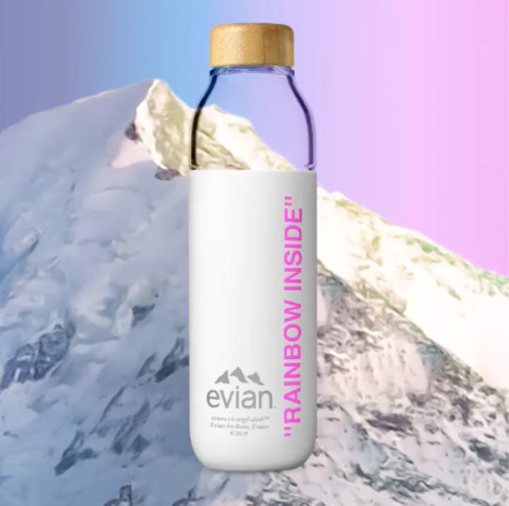 Everything I Would Pour Into This Virgil Abloh x Evian Water Bottle