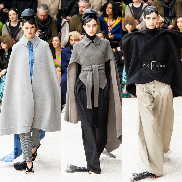 jw anderson was walking on clouds for autumn/winter 19