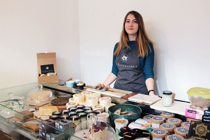 The UK's First Vegan Cheese Shop Isn't Afraid of Controversy