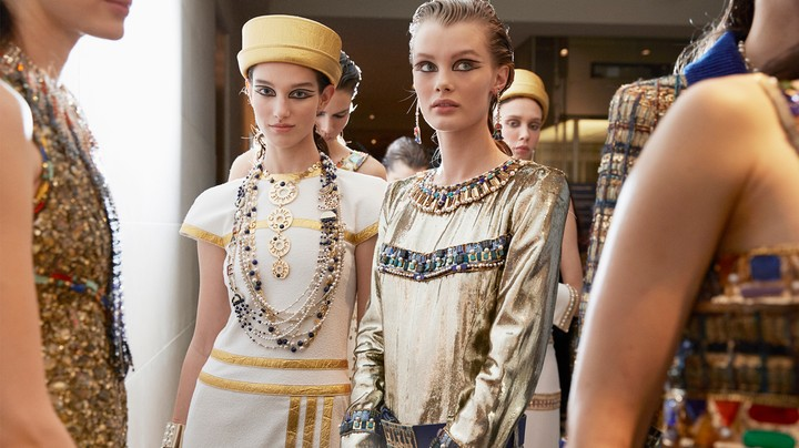 Behind the Scenes at Karl Lagerfeld's Penultimate Chanel Show