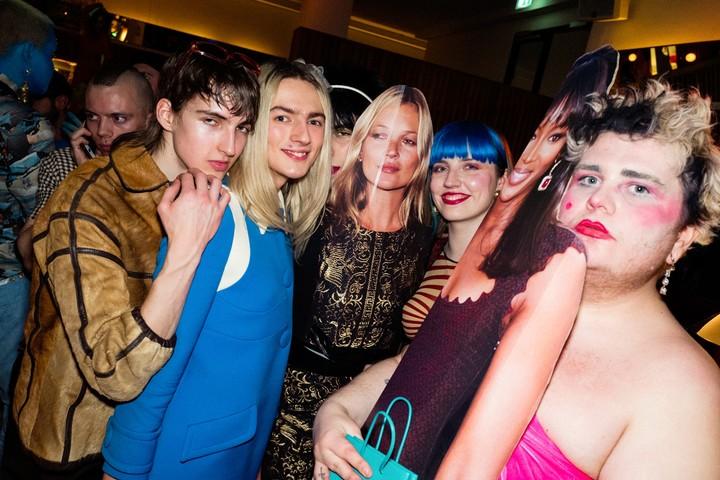 we hit peak fashion-celebrity at last night's london fashion week closing party