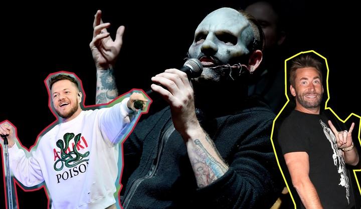 Slipknot Singer and Arbiter of Taste Corey Taylor Hates Imagine Dragons