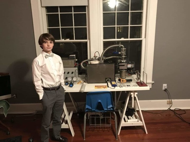 A Child Explains Why He Built a Nuclear Reactor in His Playroom