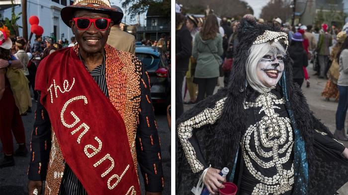 La parade des haricots rouges de la Nouvelle-Orléans