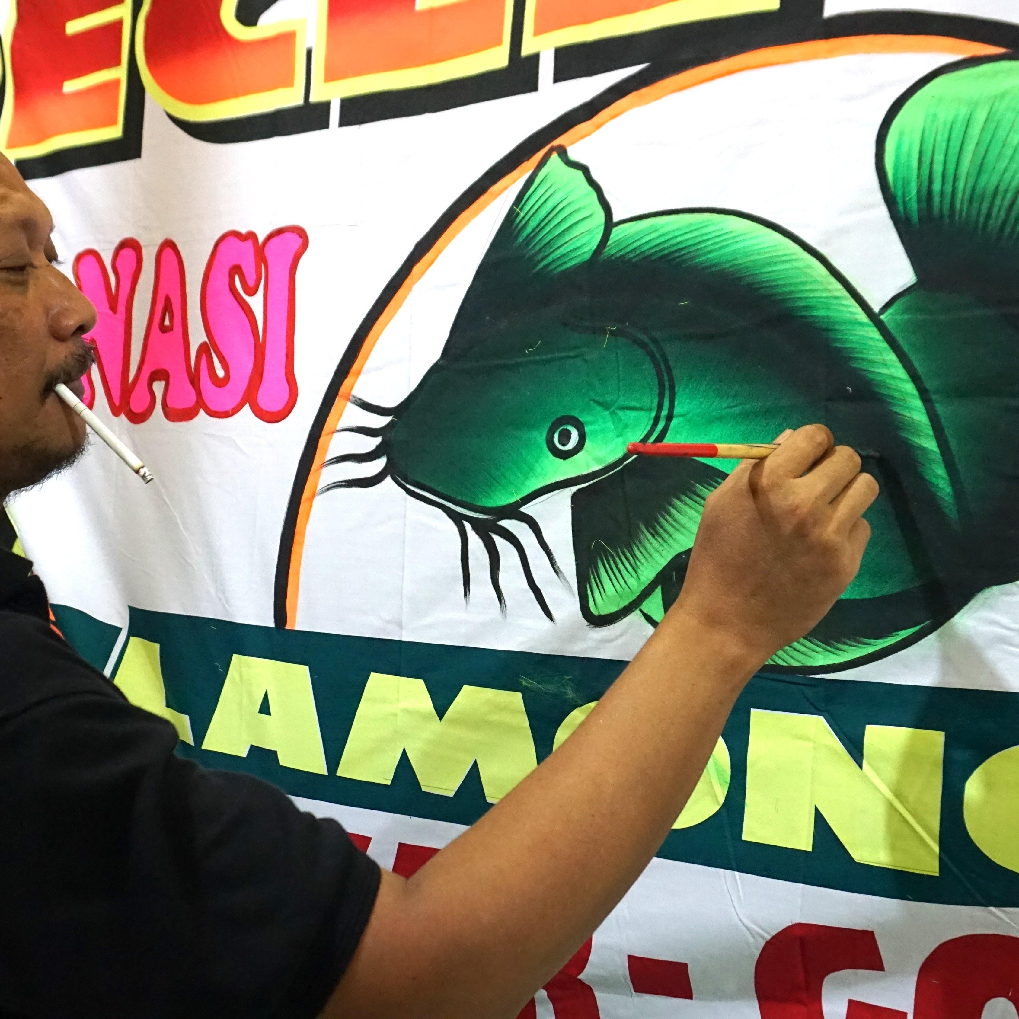 Spanduk Jual Ikan Lele Segar - desain spanduk keren