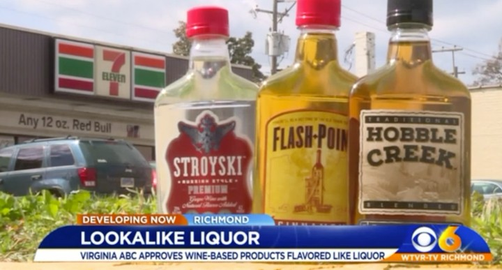 These Weird Booze-Knockoff Flavored Wines Are Showing Up in Gas Stations
