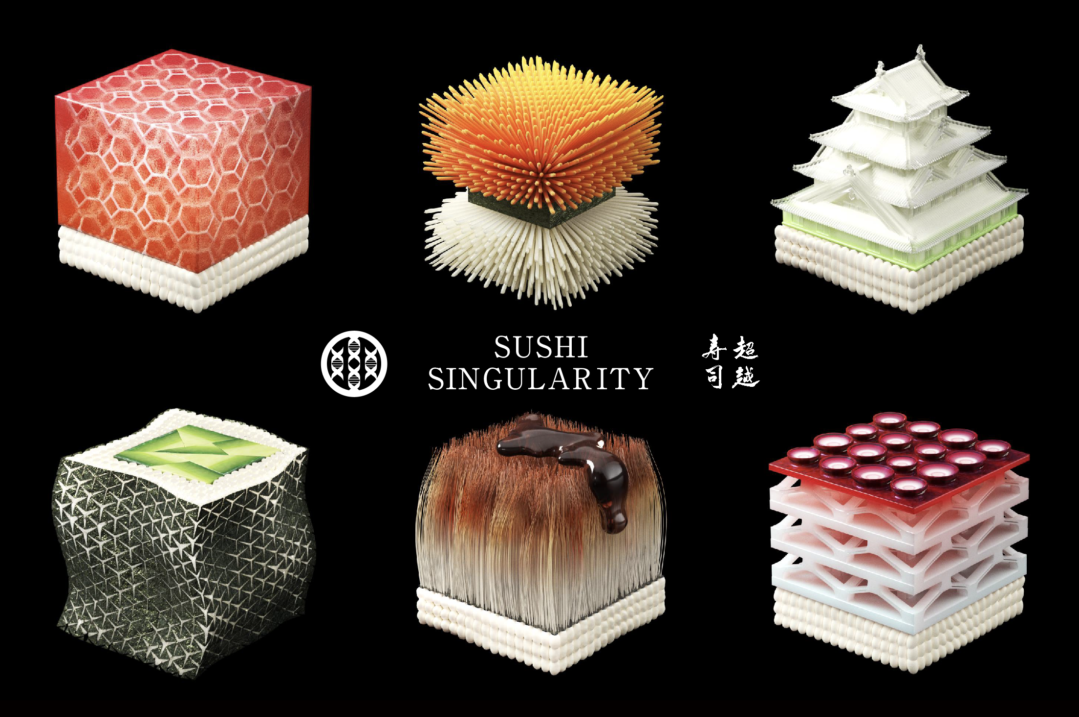 This Japanese Company Wants to 3D-Print Custom Sushi for Each Diner