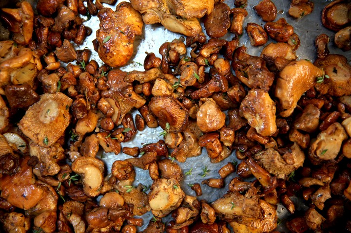 Buttered Chanterelles Recipe