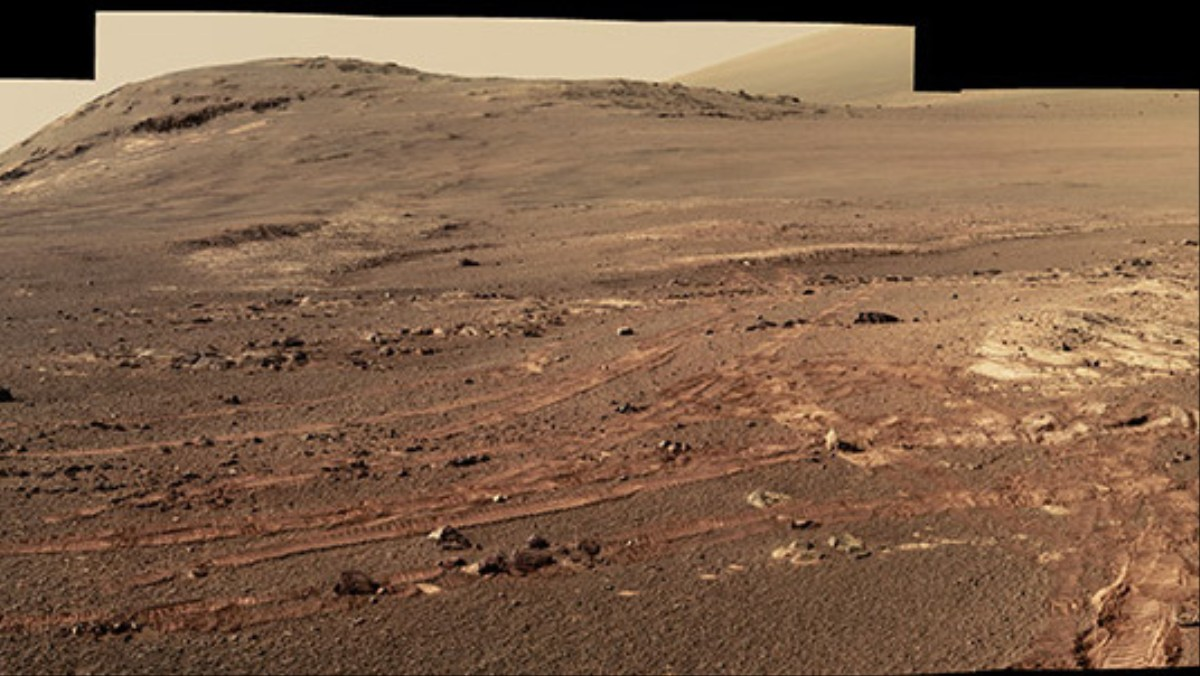 NASA Releases Opportunity Rover's Final Panoramic View of Mars