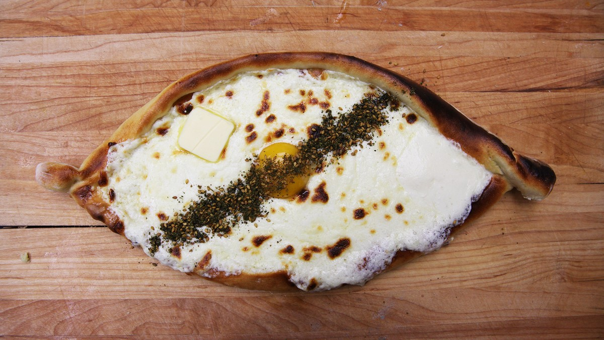 How to Make Khachapuri, the Magical Georgian Dish that Tastes Like Breakfast Pizza